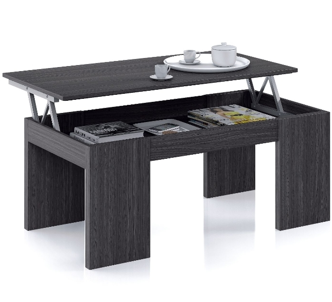Magnificent Best Raise Up Coffee Tables Within Flower Lift Up Oak Grey Coffee Table Amos Mann Furniture (View 35 of 40)