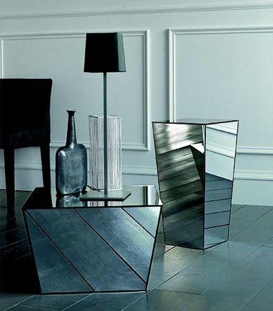 Magnificent Best Small Mirrored Coffee Tables Throughout 83 Best Ideas Glassmirror Furniture Images On Pinterest Home (View 35 of 50)