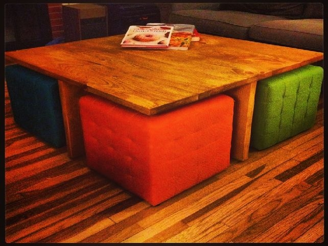 Magnificent Best Square Coffee Tables With Storage Cubes For Square Ottoman Coffee Table With Storage (View 15 of 40)