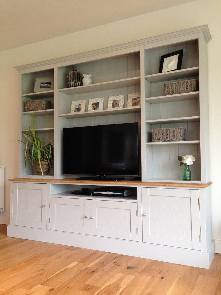 Design For Living Room Tv Cabinet: 50 Inspirations TV Stands With Matching Bookcases