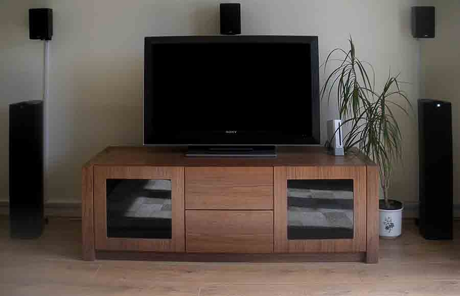 Magnificent Best Walnut TV Stands With Regard To Walnut Tv Stand In Stock Quick View Gramercy Tv Stand Featured (View 16 of 50)