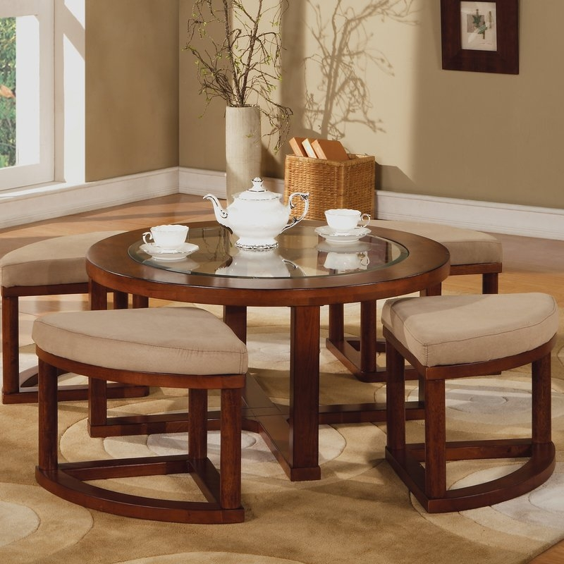 Magnificent Best Wayfair Coffee Table Sets Regarding Acme Furniture Patia Coffee Table Set Reviews Wayfair (Image 31 of 50)