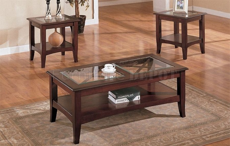 Magnificent Brand New 2 Piece Coffee Table Sets Within Living Room Table Set Sauder Beginnings 3 Pack Table Set Cinnamon (View 12 of 50)