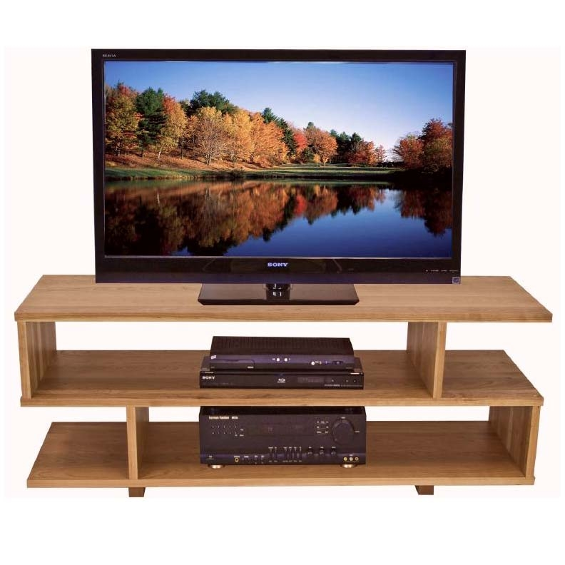 Magnificent Brand New Cherry Wood TV Stands Pertaining To Contemporary Style Tv Stand Solid Wood Home Entertainment Furniture (Image 36 of 50)