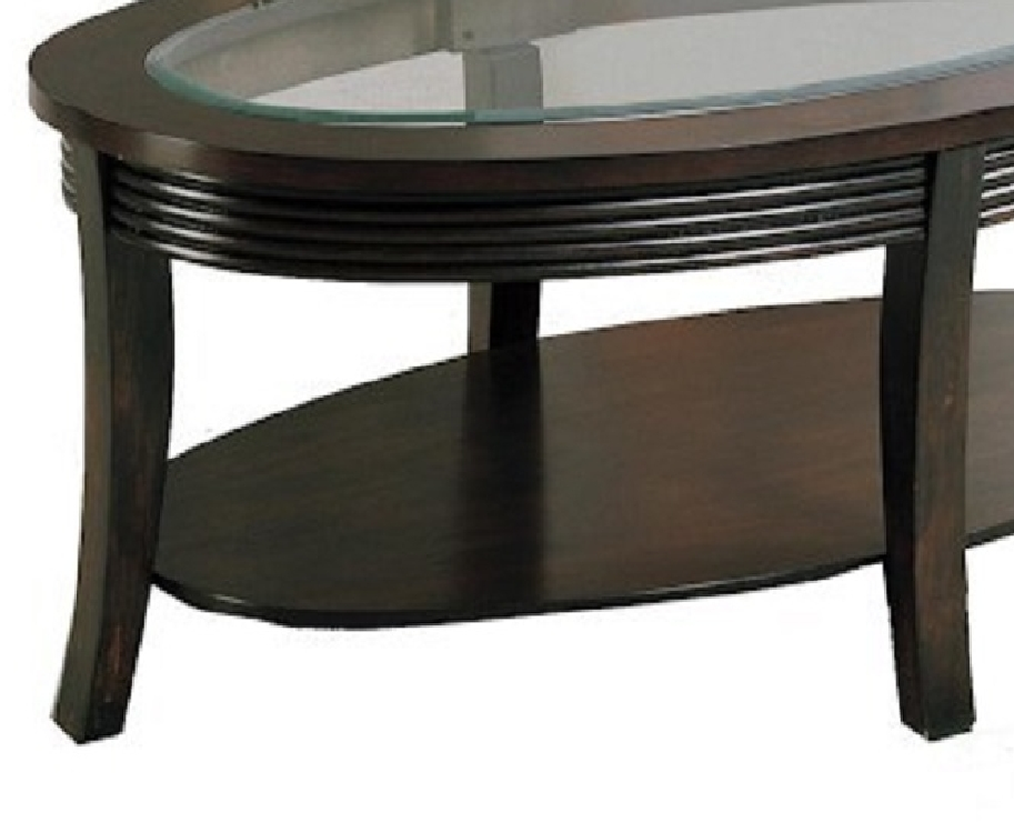 Magnificent Brand New Dark Brown Coffee Tables Inside 4253 01 Simone Dark Brown Cocktail Coffee Table (View 40 of 50)
