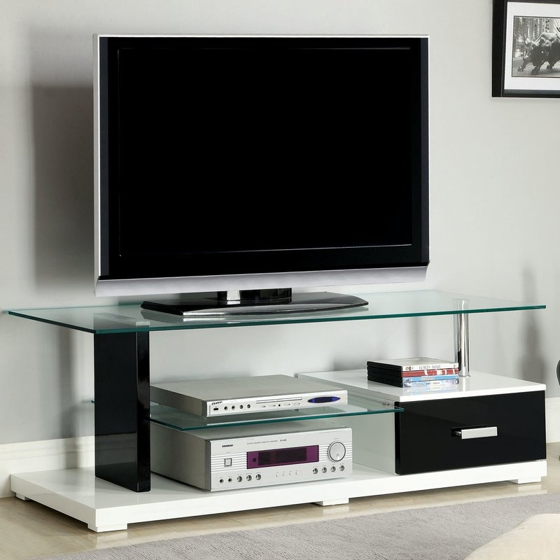Magnificent Brand New Hokku TV Stands With Regard To Hokku Designs Mayse 55 Tv Stand Reviews Wayfair (Image 37 of 50)