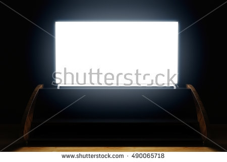 Magnificent Brand New Illuminated TV Stands Within Wooden Tv Stock Images Royalty Free Images Vectors Shutterstock (Image 41 of 50)