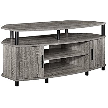 Magnificent Brand New Light Oak Corner TV Stands For Amazon Altra Carson 50 Corner Tv Stand Sonoma Oak Kitchen (View 27 of 50)