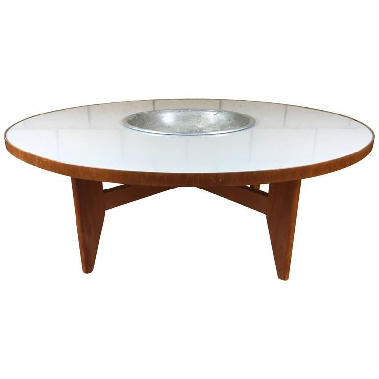 Magnificent Brand New Nelson Coffee Tables Inside Rare Early Transitional George Nelson Round Coffee Table With (Image 28 of 50)