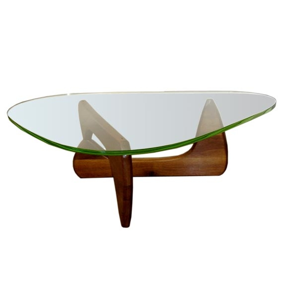 Magnificent Brand New Noguchi Coffee Tables Intended For Rare Original 1948 Isamu Noguchi Coffee Table W Original Glass At (Image 26 of 40)