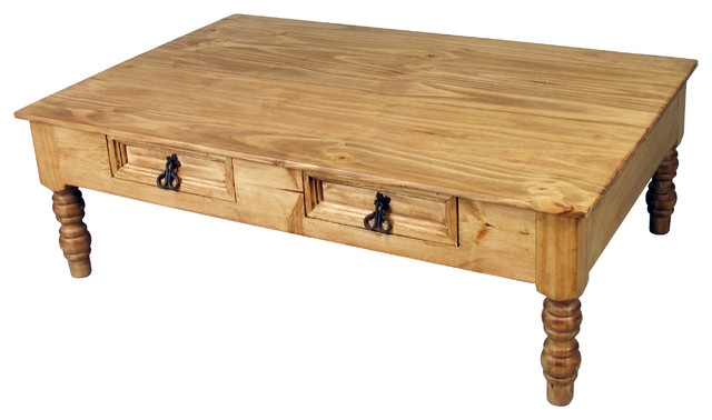 Magnificent Brand New Pine Coffee Tables Pertaining To Top Pine Coffee Table With Mexican Rustic Pine Coffee Table (Image 33 of 50)