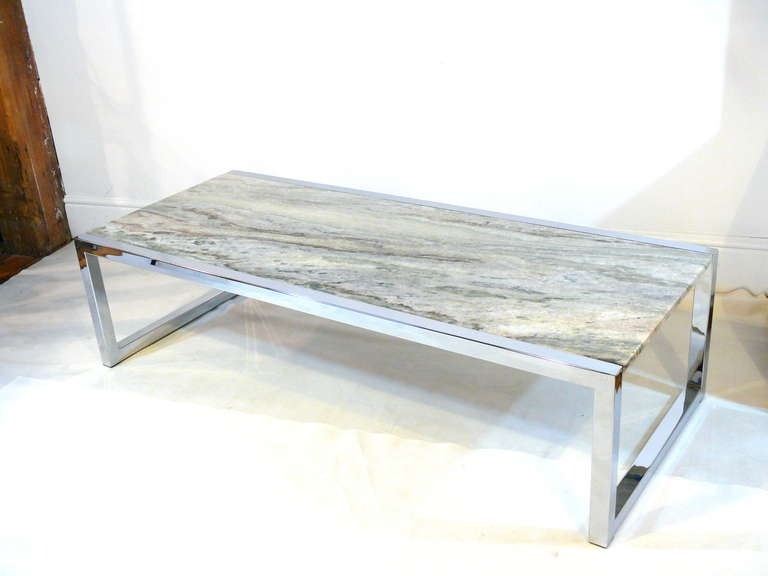 Magnificent Brand New Rectangle Glass Chrome Coffee Tables Pertaining To Coffee Table Antique Chrome Coffee Table Legs Modern Glass Chrome (View 31 of 50)