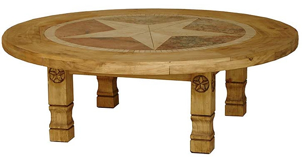 Magnificent Brand New Round Pine Coffee Tables For Rustic Coffee Tables And Mexican Coffee Tables (View 3 of 50)