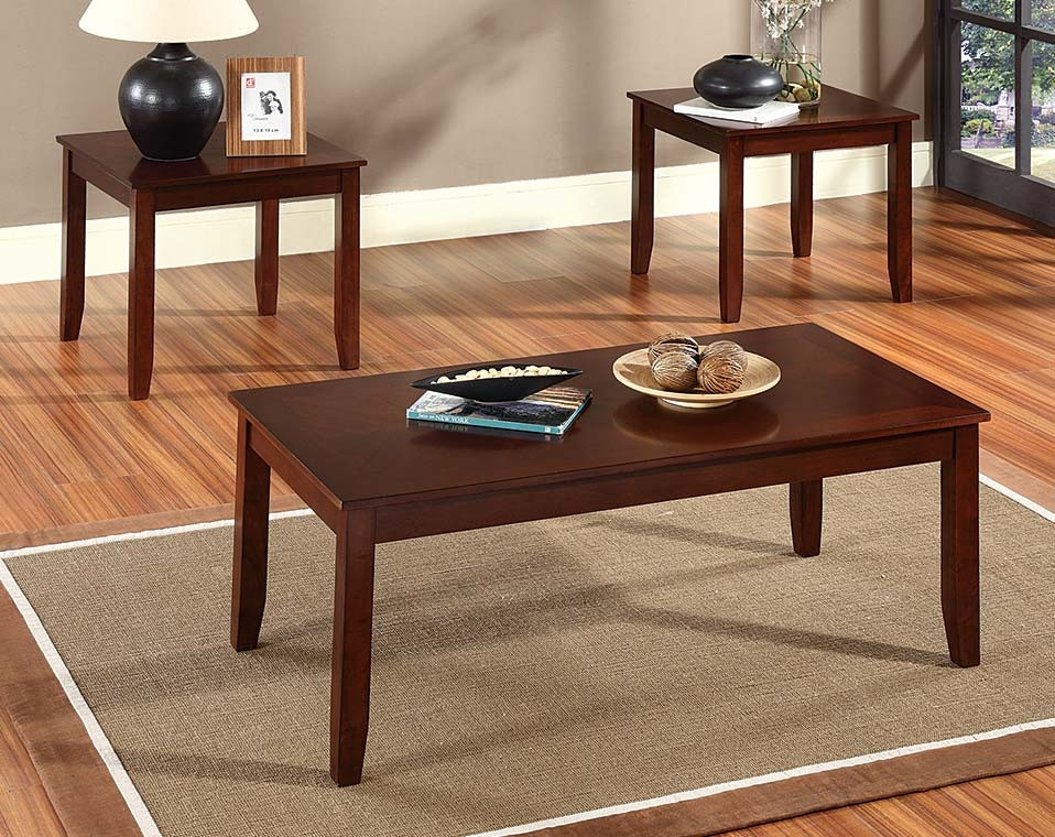 Magnificent Common 2 Piece Coffee Table Sets Pertaining To Discount Coffee Tables End Tables American Freight (View 34 of 50)