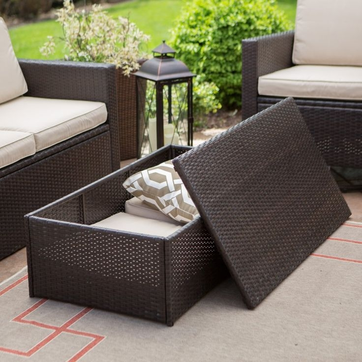 Magnificent Common Cheap Coffee Tables With Storage Within Outdoor Coffee Table With Storage Luxury On Modern Coffee Table (View 49 of 50)