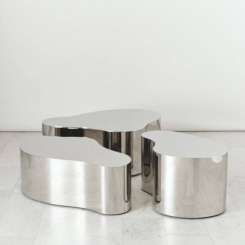 Magnificent Common Free Form Coffee Tables Pertaining To Karl Springer Ltd Free Form Low Table Usa 2016 Todd Merrill (Image 26 of 40)
