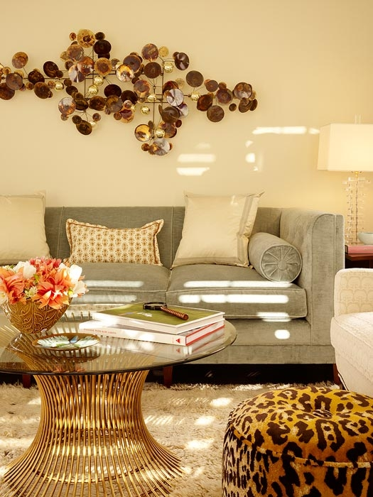 Magnificent Common Leopard Ottoman Coffee Tables For Leopard Pouf Contemporary Living Room Palmer Weiss (View 12 of 40)