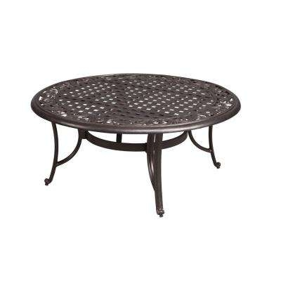 Magnificent Common Metal Round Coffee Tables Within Outdoor Coffee Tables Patio Tables The Home Depot (Image 35 of 50)