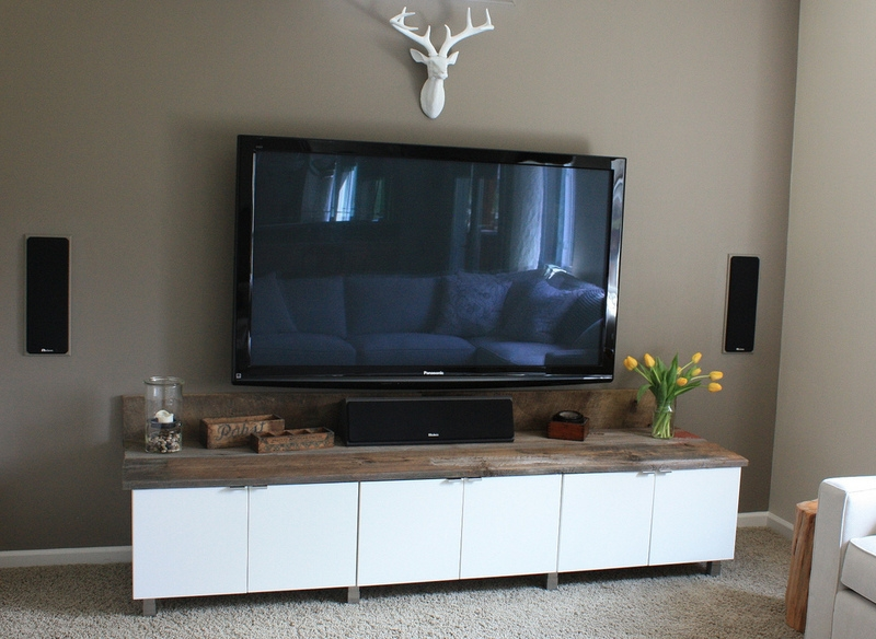 Magnificent Common Off The Wall TV Stands Within Ikea Media Cabinet Still Stunning Even Tvs Off Homesfeed (View 47 of 50)
