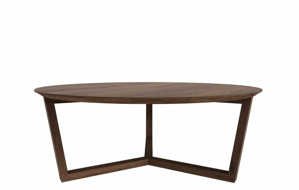 Magnificent Common Oval Walnut Coffee Tables Throughout Walnut Coffee Table (Image 36 of 50)