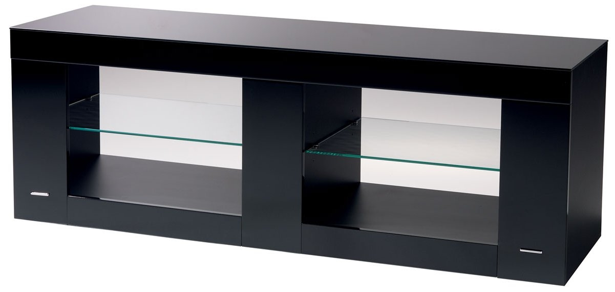 Magnificent Common Shiny Black TV Stands Within Black Tv Stand Tv Stand With Mount 40 Inch Black Tv Stand Maxine (Image 35 of 50)