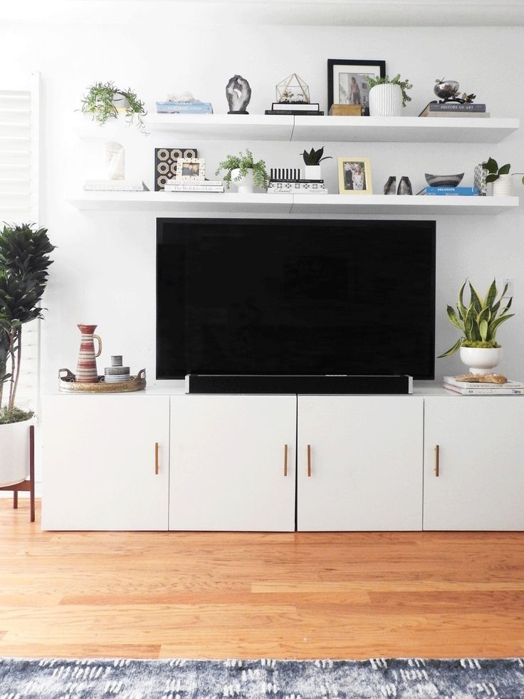 Magnificent Common White Wall Mounted TV Stands Throughout Best 25 Ikea Tv Ideas On Pinterest Ikea Tv Stand Tv Cabinet (Image 37 of 50)