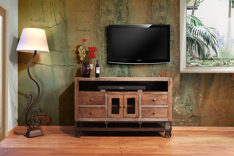 Magnificent Common Wooden TV Stands With Wheels Pertaining To Tv Stands Amusing American Furniture Tv Stands 2017 Design (Image 39 of 50)