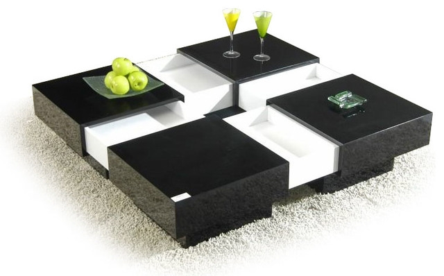 Magnificent Deluxe Black Coffee Tables With Storage Intended For Black Coffee Table With Storage (Image 33 of 40)
