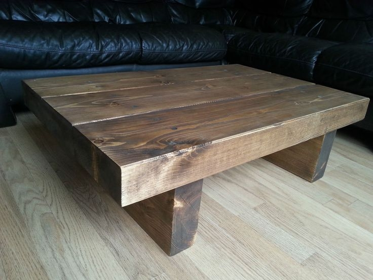 Magnificent Deluxe Chunky Wood Coffee Tables Pertaining To 20 Best Wood Table Ideas Images On Pinterest Wood Table Rustic (Image 30 of 50)