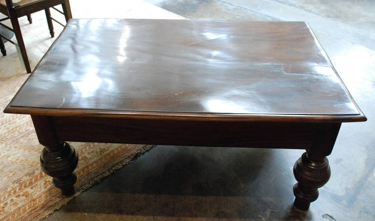 Magnificent Deluxe Colonial Coffee Tables Throughout 19th C British Colonial Coffee Table At 1stdibs (Image 34 of 50)