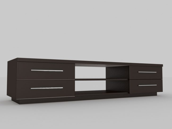 Magnificent Deluxe Long Black TV Stands In Furniture Nice Short Tv Stands Designs Evoninestore (View 20 of 50)