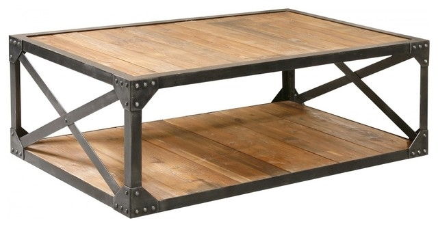 Magnificent Deluxe Low Industrial Coffee Tables  Within Coffee Tables Ideas Modern Metal Coffee Tables And End Tables (Image 30 of 40)
