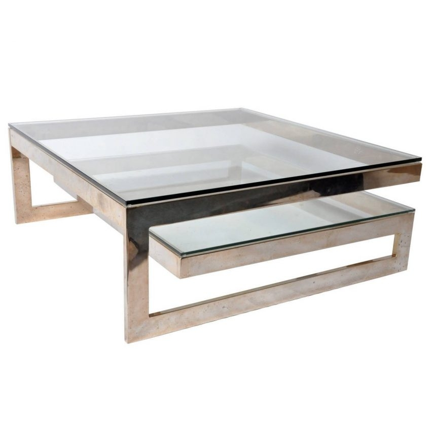 Magnificent Deluxe Vintage Glass Coffee Tables With Regard To Antique Glass Coffee Table As Cocinacentralco (View 34 of 50)