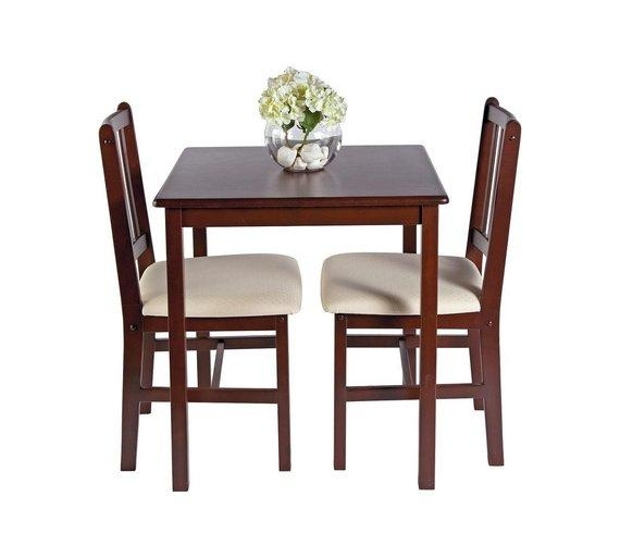 Magnificent Dining Table 2 Chairs Small Kitchen Lover And Image With Two Seat Dining Tables (Image 14 of 20)