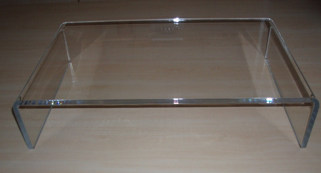 Magnificent Elite Clear Acrylic TV Stands Intended For Clear Acrylic Tv Stand Or Pc Monitor Riser Acrylic Display (Image 39 of 50)