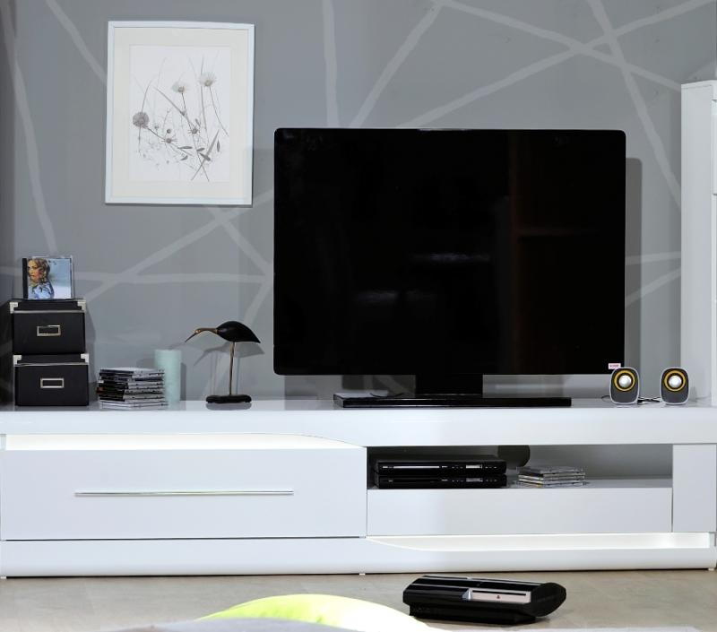 Magnificent Elite High Gloss White TV Cabinets For Sciae Living Room Furniture Contemporary Furniture Trendy Products (View 42 of 50)