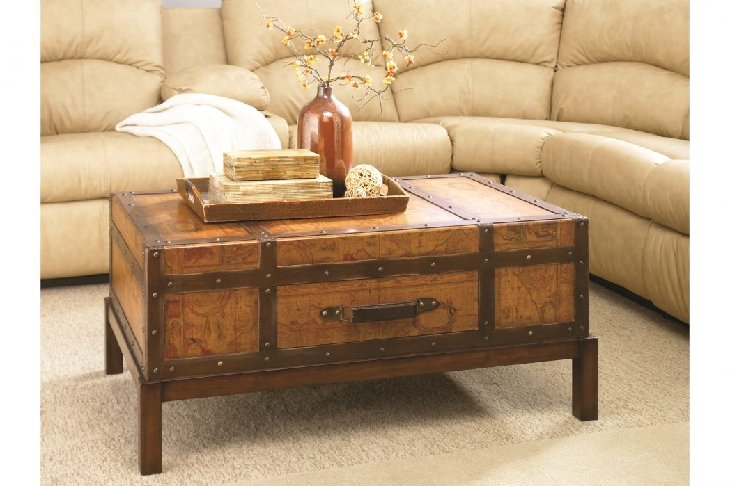 Magnificent Elite Large Trunk Coffee Tables Regarding Large Trunk Coffee Tab Thippo (Image 35 of 50)