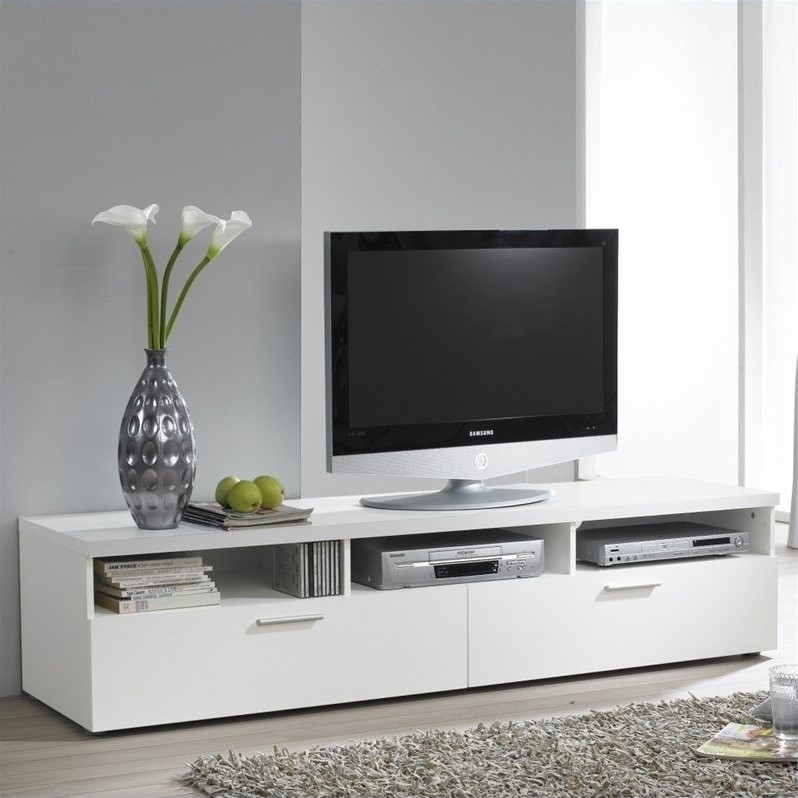 Magnificent Elite Large White TV Stands For Contemporary Tv Stands Cool Lotusep (View 4 of 50)