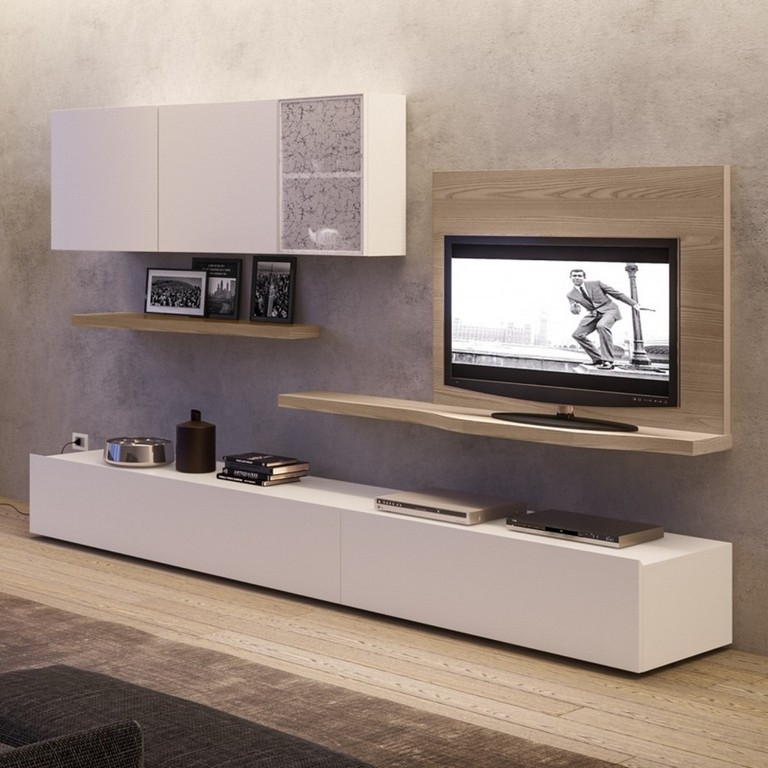 Magnificent Elite Long Black TV Stands Regarding Long Low Tv Stand (Image 33 of 50)