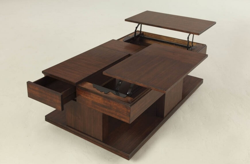 Magnificent Elite Low Coffee Tables With Drawers Inside 27 Incredible Man Cave Coffee Tables (Image 37 of 50)