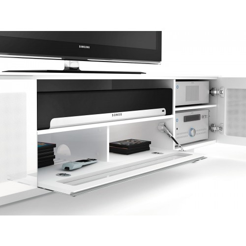 Magnificent Elite Sonos TV Stands Pertaining To Nora 8239 Tv Stand Bdi Italmoda Furniture Store (View 6 of 50)