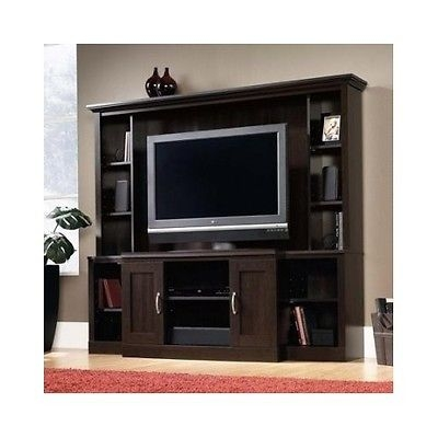 Magnificent Elite Storage TV Stands Within Large Entertainment Center Tv Stand Media Cabinet Home Theater (Image 37 of 50)