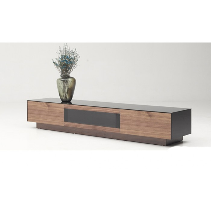 Magnificent Elite Walnut TV Stands For Modrest Darius Modern Walnut Tv Stand (View 4 of 50)