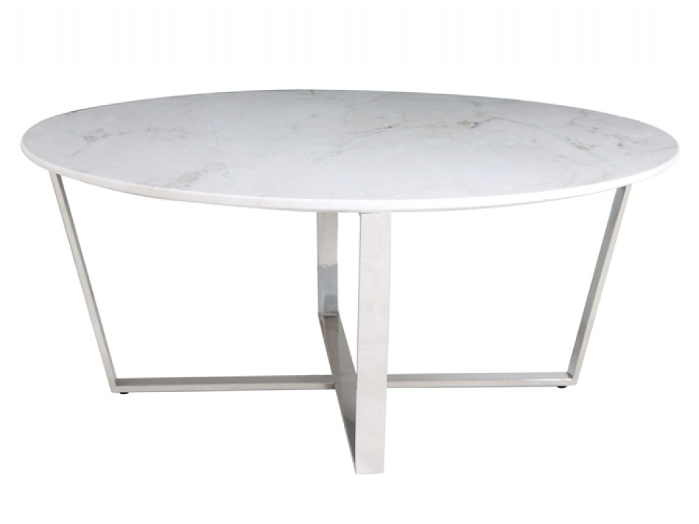 Magnificent Elite White Circle Coffee Tables Regarding Marble Coffee Table Round (Image 33 of 50)