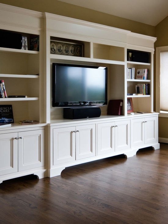 Magnificent Elite White TV Cabinets With Regard To White Tv Cabinet Houzz (Image 35 of 50)
