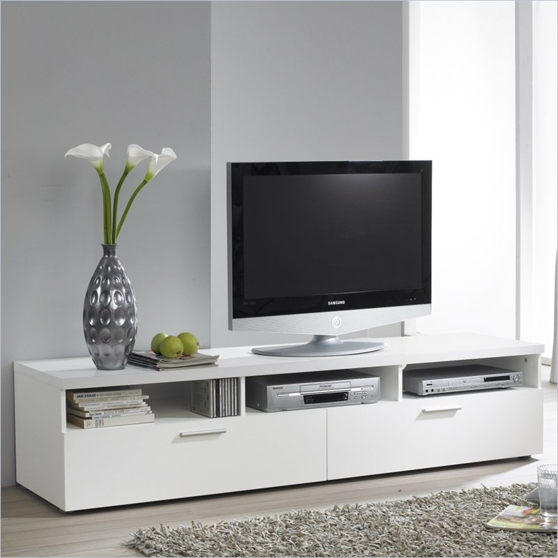 Magnificent Elite White TV Stands With Regard To Tvilum Hayward Tv Stand  (Image 30 of 50)
