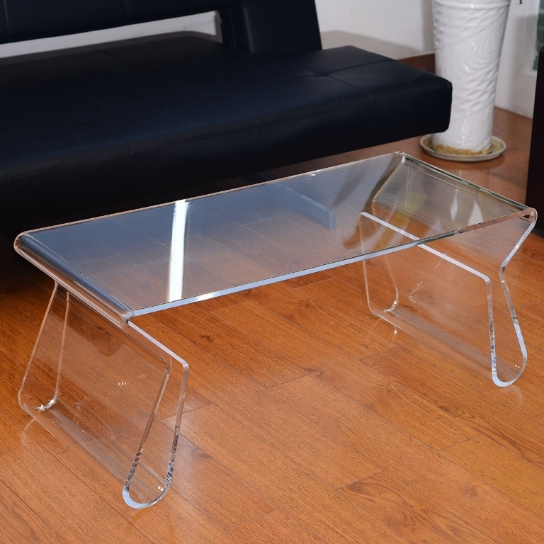 Magnificent Famous Acrylic Coffee Tables With Magazine Rack Pertaining To Acrylic Coffee Table Gallery Photos Table Designs (View 34 of 40)