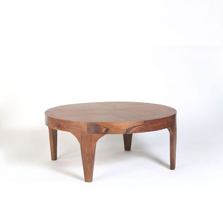 Magnificent Famous Aiden Coffee Tables In Aiden Wood Coffee Table West Elm (View 4 of 50)