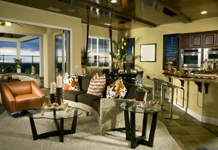 Magnificent Famous Coffee Table With Matching End Tables Throughout 24 Awesome Living Room Designs With End Tables (Image 41 of 50)