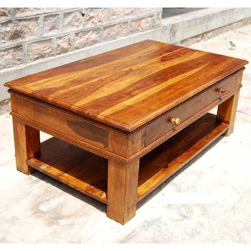 Magnificent Famous Coffee Tables With Shelves Regarding Coffee Tables With Drawers Idi Design (View 7 of 50)